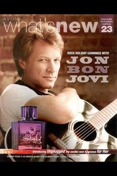 Jon Bon Jovi's new Avon fragrance is coming to an Avon Rep near you