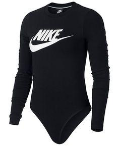 9588c238b454c Nike Sportswear Essential Bodysuit & Reviews - Tops - Women - Macy's