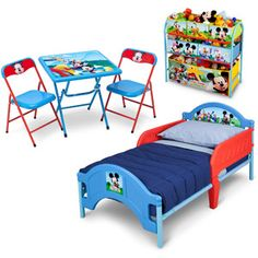 Disney - Mickey Mouse 3-Piece Room-in-a-Box