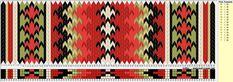 Bunad, Smykker, vev & rosemaling: Tradisjonelle belte-mønstre i brikkevev til Øst-Telemark bunaden