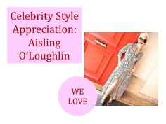 We're loving Aisling O'Loughlin's style in this Zara dress and heels. She's giving us modern-day Marilyn Monroe vibes!