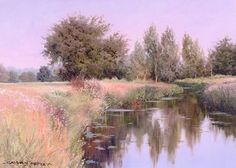 River Blackwater at Langford, Essex Throughout The World, Impressionist, Graham, Britain, Country Roads, River, Fine Art, Landscape, Artist