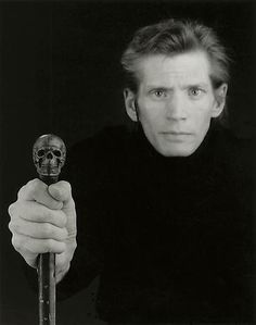 Robert Mapplethorpe (November 4, 1946 – March 9, 1989) was an American photographer, known for his large-scale, highly stylized black and white portraits, photos of flowers and nude men. The frank homoeroticism of some of the work of his middle period triggered a more general controversy about the public funding of artworks.