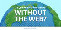 Oggi il Web compie 25 anni! Vi ricordate il mondo senza? Unisciti per sostenere un #web libero e aperto!  #Web25