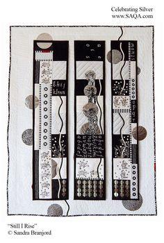 Art quilt by Sandra Branjord #artquilts #SAQA #art #fiberart #exhibits