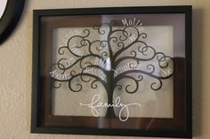 Floating Frame and Family Tree