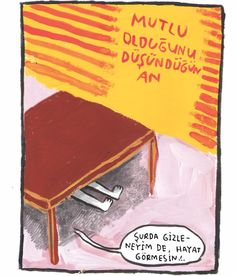 hayat görmesin. #uykusuz #cemgüventürk #uykusuzdergi #karikatür #gouache