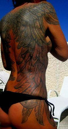 Back Piece:Wings- Brenda by Vince Wishart, via Flickr