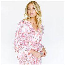 Kimono Style Robe. Knee Length. Sweet Love and Yonderflies.