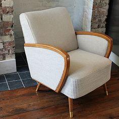 Love this vintage armchair