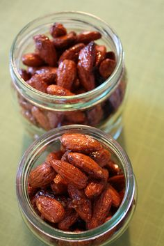 My candied almonds.