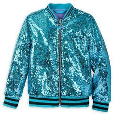 0bcfeaa9 Jasmine Sequined Bomber Jacket for Girls - Aladdin. Princess JasmineDisney  JasmineSequin ShirtKids ...
