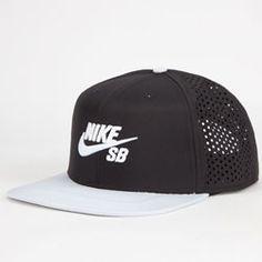 Nike Sb Performance Mens Trucker Hat Black/Silver One Size For Men  25402414501