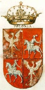 Polonia · Polska 1605 Poland History, Crests, Lithuania, Coat Of Arms, Medieval, Objects, Antiques, Herb, Politics