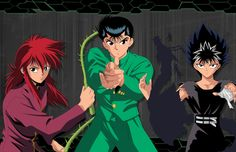 Kurama Yusuke and Hiei by Kyriount on deviantART