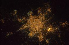 Aerial Beijing from Italian astronaut Paolo Nespoli's Flickr stream via @binx