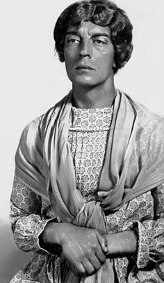 Buster Keaton      Wardrobe Test for MGM    He looks like that grandma character Lon Chaney played. Anyone know what role I mean? I can't remember the movie.  ;p