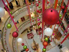 Christmas Decoration in Peter Jones, London