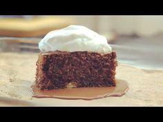 Tarta de chocolate con nata a la vainilla, receta Jordi Cruz - YouTube Food And Drink, Desserts, Recipes, Chefs, Videos, Brownies, Youtube, Instagram, Carrot Cakes