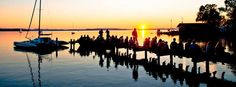 #Sundowner #Chiemsee #Übersee-Feldwies #Sonnenuntergang  #See #Chiemgau #Bayern #Bavaria #Seebar
