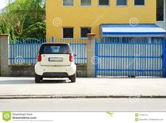 Parked Car Stock Images - Image: 14135174