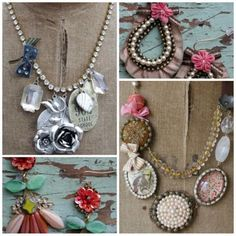 Buy here jewelry.  Lots of it.  And if you can't afford it, MAKE it.