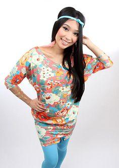 "MEKO Minikleid ""POLLY_13Blume""  von meko® Store   auf DaWanda.com"