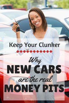 Used Cars Are Not Money Pits. New Cars Are.  An answer to the #1 excuse I hear from people who talk themselves into buying a new car. #car #maintanance
