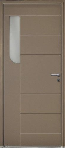 porte bois porte entree bel 39 m contemporaine poignee. Black Bedroom Furniture Sets. Home Design Ideas