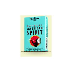 Natural American Spirit - Blue - Full-Bodied taste ❤ liked on Polyvore featuring accessories and cigarettes