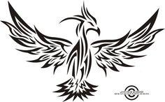 tribal phoenix 2 by jhin22000 on deviantART