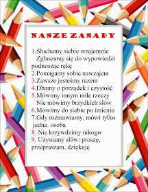 W naszej klasie 1-2-3 c: Nasze zasady Subject Labels, Polish Language, Summer Club, Teachers Corner, Pin On, Creative Kids, Diy Christmas Gifts, Back To School, Diy And Crafts
