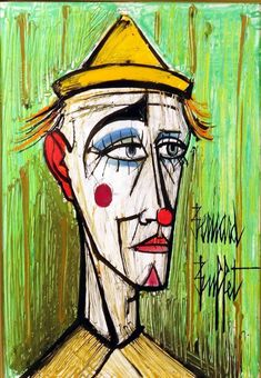Bernard Buffet (1928-1999), Clown