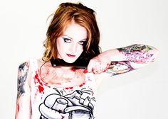 Tattoo Model - Elise Jordan