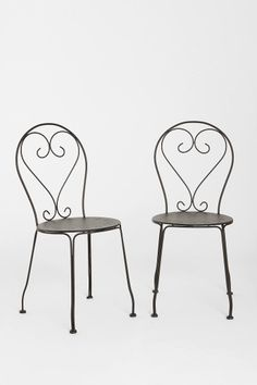 Urban Outfitters - Cafe Chair - Set of 2
