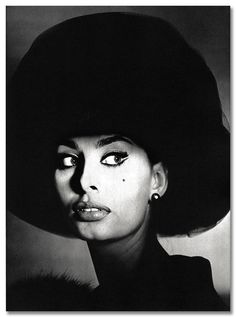 Sophia Loren photographed by Irving Penn
