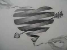 10+ Cool Heart Drawings for Inspiration | Heart Drawings, Drawings ...