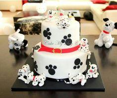 101 dalmatas cake