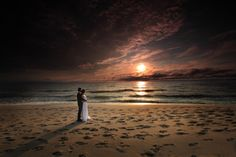 Amazing beach wedding picture