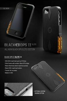 Black-Ops-Elite Iphone case (wonder if they make it for the - Cheap Phone Cases - Ideas of Cheap Phone Cases - Black-Ops-Elite Iphone case (wonder if they make it for the Gadgets And Gizmos, New Gadgets, Office Gadgets, Camping Gadgets, Kitchen Gadgets, Iphone 6 Plus Case, Iphone 8 Cases, Electronics Projects, Electronics Gadgets