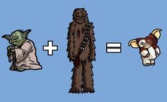 (xDDD) What would happen if you cross Yoda with Chewbacca? #StanWinston