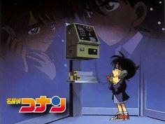 Telefonant von Conan/Shinichi und Ran