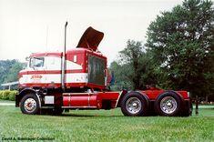 Antique Semi Trucks Dale restored the truck from