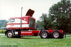 Antique Semi Trucks Dale restored the truck from