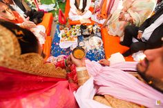 Rituals - Wedding Rituals Photos, Hindu Culture, Orange Color, Wedding, Wedding Rituals, Mandap pictures.