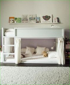 45 ideas kids room ideas for boys ikea kura bed hack Ikea Loft Bed Hack, Ikea Hack Lit, Kura Bed Hack, Bed Ikea, Ikea Hacks, Ikea Kura Hack, Ikea Stuva, Room Ideas Bedroom, Small Room Bedroom