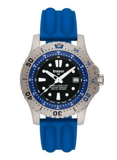 Traser Diver Long-Life Blue LE Silicone Blue 64cae89ee70