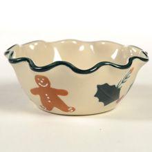 Ruffle Bowl, Mini, Gingerbread - Hartstone Pottery
