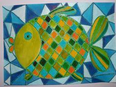 Kouzelná rybka - vitráž trochu jinak