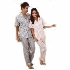 d143555f43 Couples  Pajamas  Short Sleeved Set Couple Pajamas